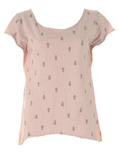 Realize Shirt en Top Realize ANANAS TEE T-Shirt Korte mouw l.rose