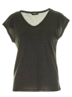 Only Shirt en Top Only ONLSILVERY S/S V NECK LUREX TOP T-Shirt Korte mouw kalamata