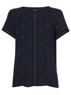 Tramontana Shirt en Top Tramontana IO2-84-301 TOP STAR EMBROIDERY T-Shirt Korte mouw 5030 dark blue