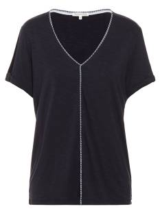 Tramontana Shirt en Top Tramontana D13-86-403 T-SHIRT OPEN SLEEVE T-Shirt Korte mouw 5032 midnight