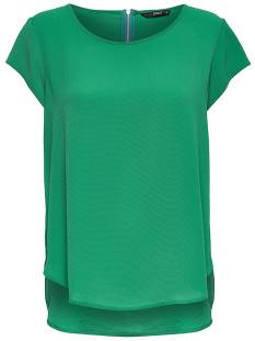 Only Shirt en Top Only ONLVIC SS SOLID TOP T-Shirt Korte mouw leprechaun 15142784
