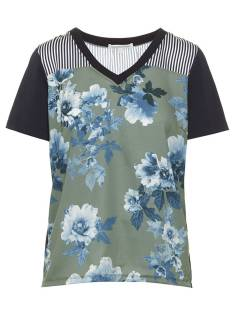 Tramontana Shirt en Top Tramontana C05-86-301 TOP FADED FLOWER T-Shirt Korte mouw 9999 multi colour