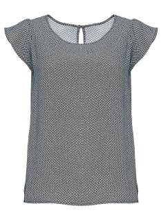 Opus Shirt en Top Opus FANNIE T-Shirt Korte mouw 6058 simply blue