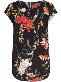 Only Shirt en Top Only ONLVIC SS AOP TOP T-Shirt Korte mouw black / flower 15161116