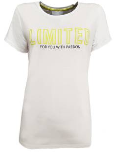 Elvira Shirt en Top Elvira E3 19-010 T-SHIRT PASSION T-Shirt Korte mouw 026 white