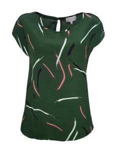 Elvira Shirt en Top Elvira E4 19-033 TOP MYRTHE T-Shirt Korte mouw paint green