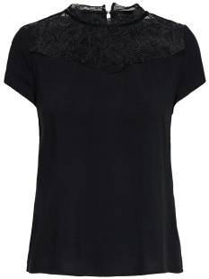 Only ONLFIRST SS LACE TOP T-Shirt Korte mouw black 15191412