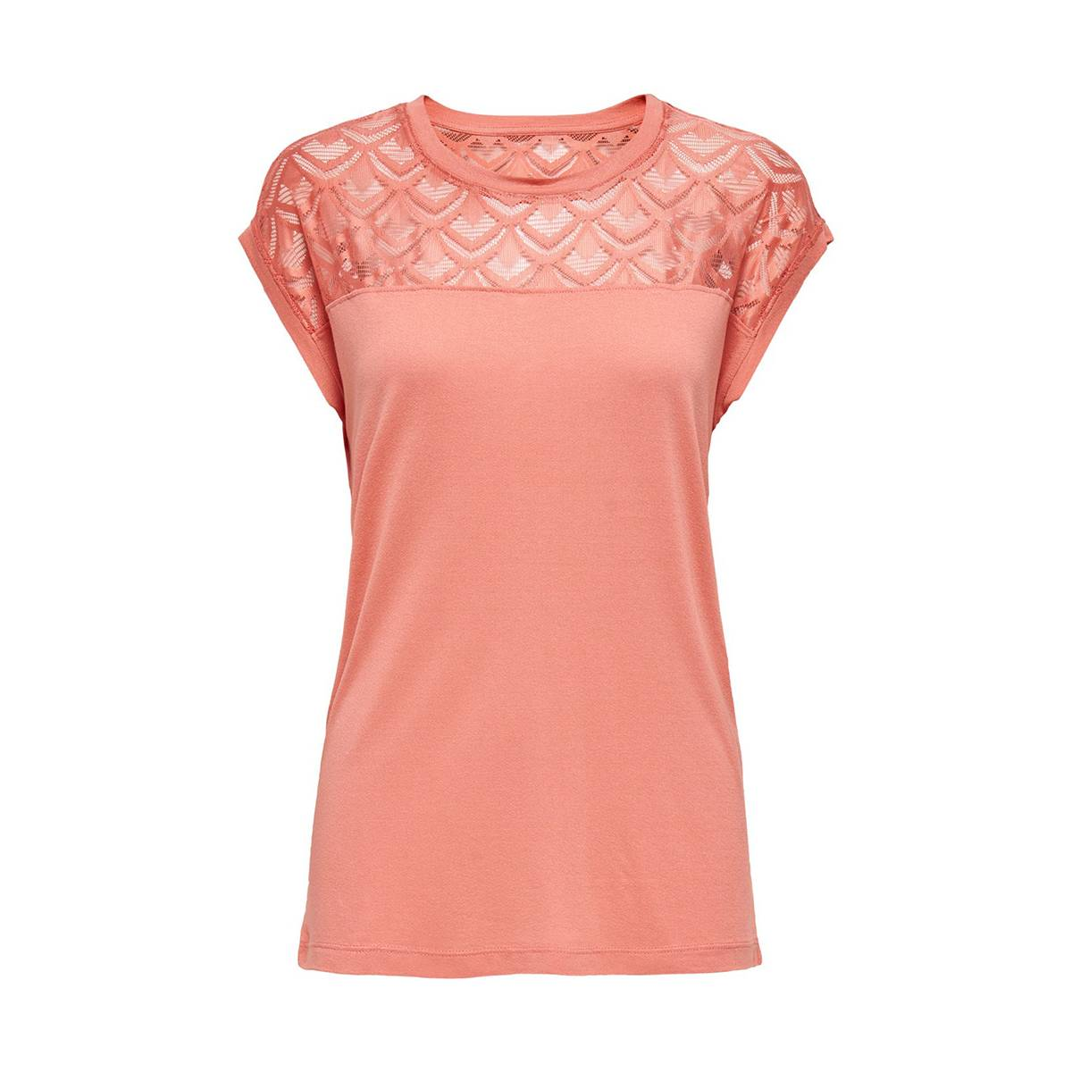 Only ONLNICOLE S/S MIX TOP Rose