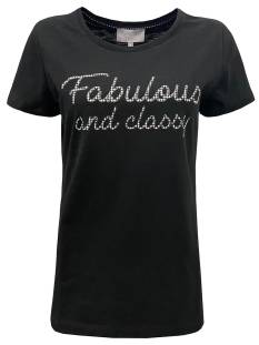 Elvira E2 20-038 T-SHIRT FABOLOUS T-Shirt Korte mouw black