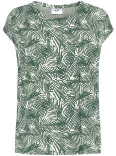 Vero Moda VMAVA PLAIN SS TOP AOP GA COLOR T-Shirt Korte mouw laurel wreath aop pam 10211314