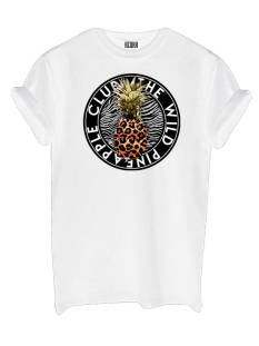 Azuka Shirt en Top Azuka PINE APPLE TEE T-Shirt Korte mouw wit