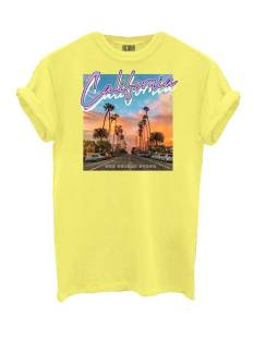 Azuka Shirt en Top Azuka AZUKA T-SHIRT CALIFORNIA T-Shirt Korte mouw solar yellow