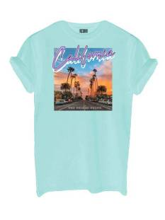 Azuka Shirt en Top Azuka AZUKA T-SHIRT CALIFORNIA T-Shirt Korte mouw mint