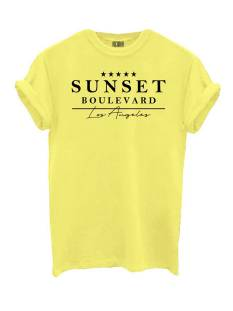 Azuka AZUKA T-SHIRT SUNSET T-Shirt Korte mouw solar yellow