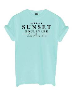 Azuka Shirt en Top Azuka AZUKA T-SHIRT SUNSET T-Shirt Korte mouw mint