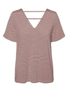 Vero Moda VMPOLLY SS TOP JRS T-Shirt Korte mouw snow white sable 10230884