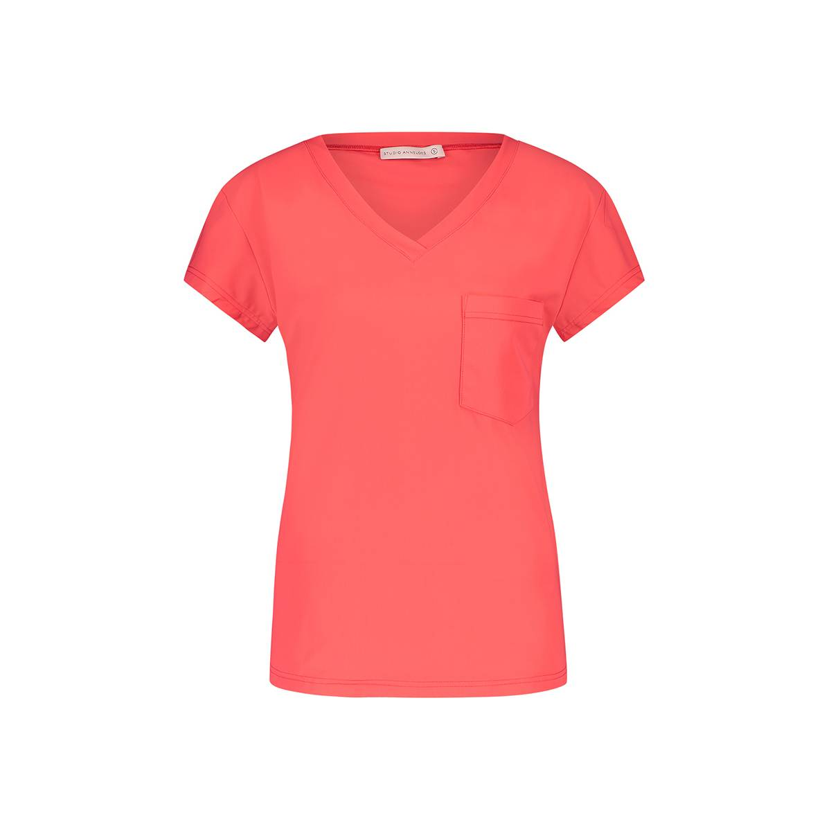 Studio Anneloes Roller SS shirt 04733 Rood