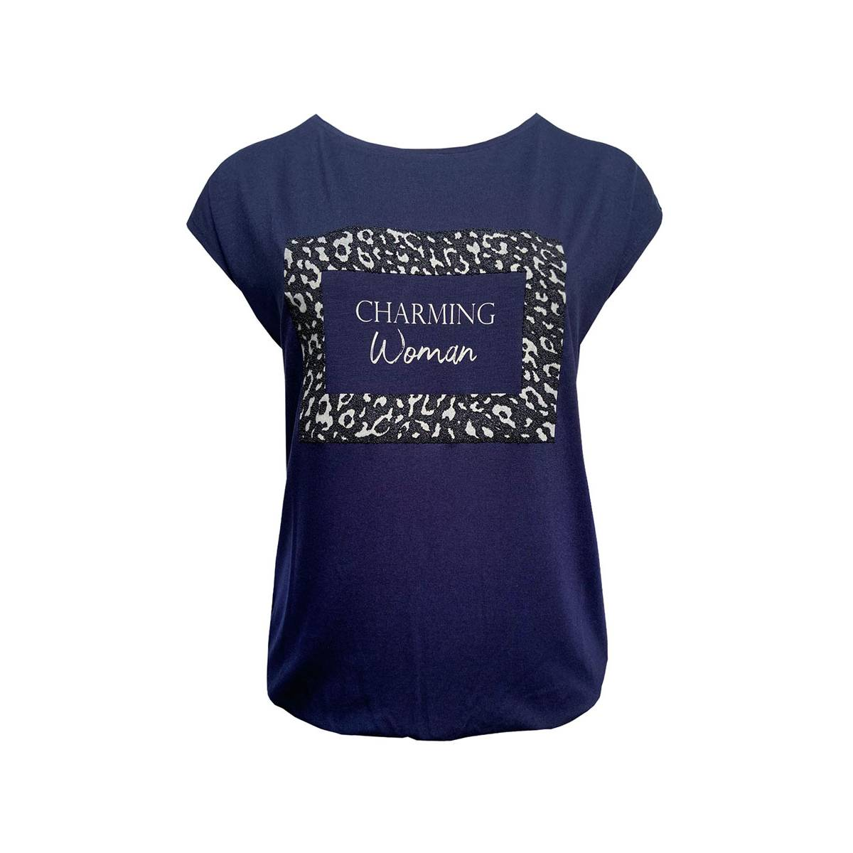 Elvira E4 20-45 T-SHIRT CHARMING Blauw