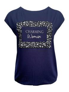 Elvira Shirt en Top Elvira E4 20-45 T-SHIRT CHARMING T-Shirt Korte mouw 0100 navy