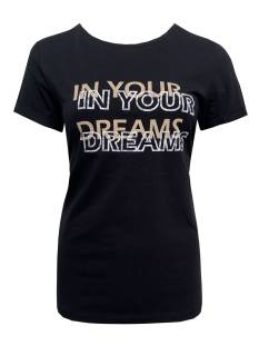Elvira Shirt en Top Elvira E4 20-21 T-SHIRT DREAM T-Shirt Korte mouw 004 black