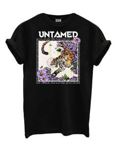 Azuka Shirt en Top Azuka UNTAMED T-Shirt Korte mouw black