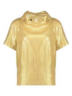 Jane Lushka Shirt en Top Jane Lushka GPL62125020 T-Shirt Korte mouw 346 gold