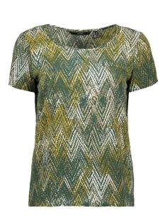 Vero Moda VMAYA SS FAKE POCKET TOP G T-Shirt Korte mouw pine grove 10240408