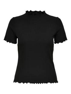 Only Shirt en Top Only ONLEMMA S/S HIGHNECK TOP NOOS JR T-Shirt Korte mouw black 15224967