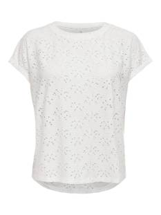 Only ONLSMILLA S/S TOP JRS NOOS T-Shirt Korte mouw cloud dancer 15231005