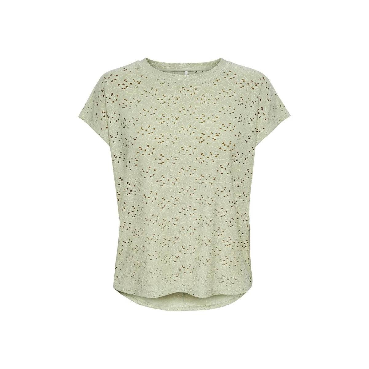 Only ONLSMILLA S/S TOP JRS NOOS Groen