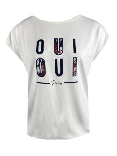 Elvira Shirt en Top Elvira E2 21-020 T-shirt Oui T-Shirt Korte mouw 15 off white