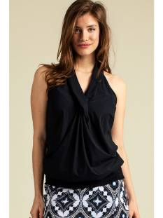 Studio Anneloes Shirt en Top Studio Anneloes Twister smoq top 04688 Topjes en Singlets 6900 dark blue