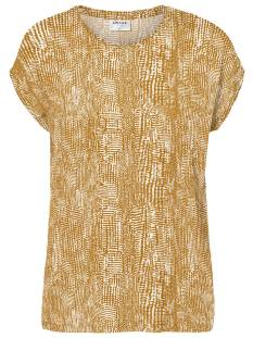 Vero Moda Shirt en Top Vero Moda VMAVA PLAIN SS TOP MULTI Topjes en Singlets buck.brown/vibe 10214302