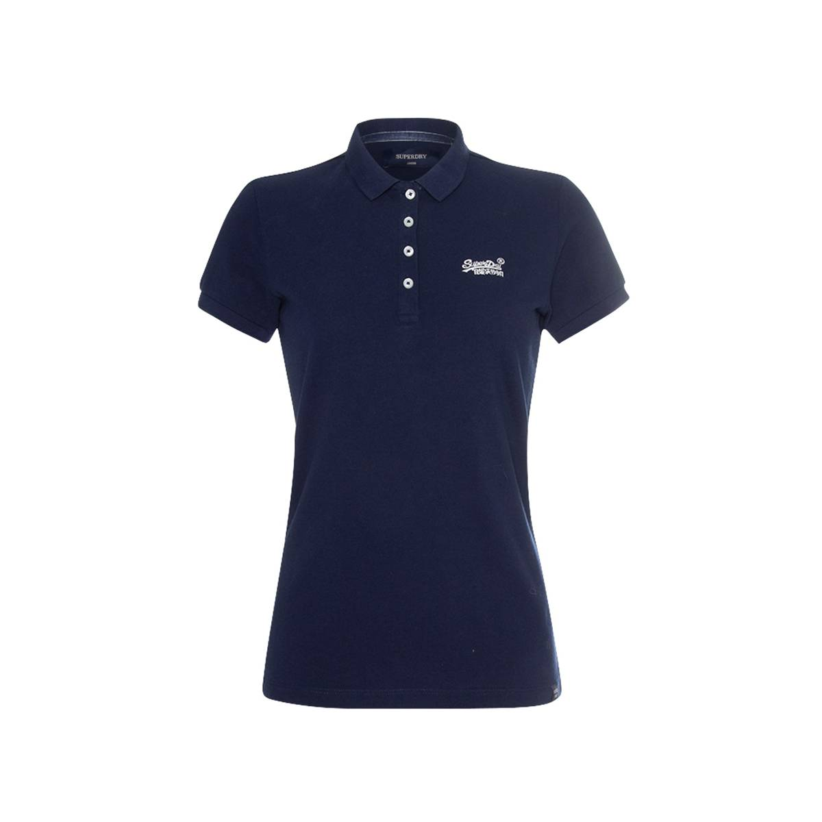 Superdry W6010017A POLO SHIRT Blauw