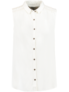 Garcia Jeans P80234 LADIES SHIRT SS Blouse 53 off white