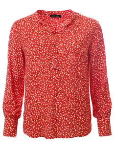 Dayz Blouse Dayz FLEUR Blouse red multi