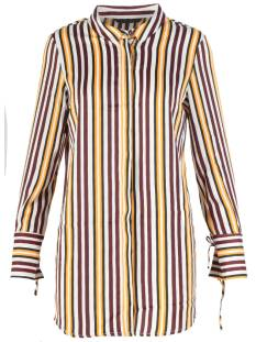Vero Moda Blouse Vero Moda VMDECADENT LS LONG SHIRT Blouse snowwhite autumn stripes