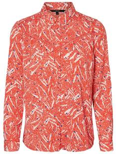 Vero Moda Blouse Vero Moda VMMARY LS SHIRT LCS Blouse fiery red 10210604