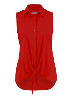 Studio Anneloes Poppy knot SL 04826 Blouse 3000 red