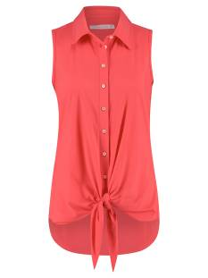 Studio Anneloes Blouse Studio Anneloes Poppy knot SL 04826 Blouse 3400 coral