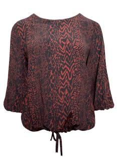 Elvira Blouse Elvira E4 20-050 BLOUSE LIANNE Blouse 761 animal print cognac