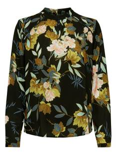 Only Blouse Only ONLNEW MALLORY L/S BLOUSE Blouse black faye flower 15154629