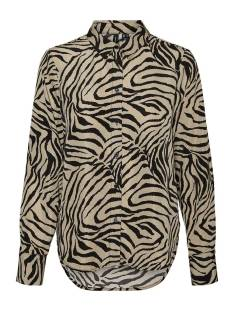 Vero Moda VMLISA GRAFFIC LS SHIRT Blouse laurel oak aop lisa 10250264