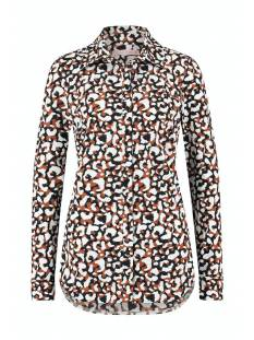 Studio Anneloes Poppy animal blouse 05651 Blouse 2390 cinnamon/black