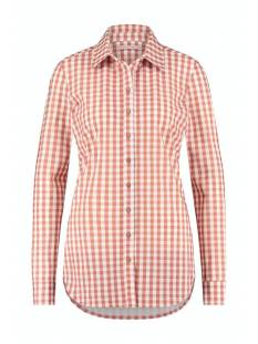 Studio Anneloes Blouse Studio Anneloes Poppy small check blouse 05653 Blouse 1154 off white/dusty rose