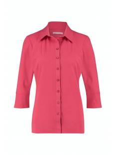 Studio Anneloes Poppy cuff shirt 05704 Blouse 3200 raspberry