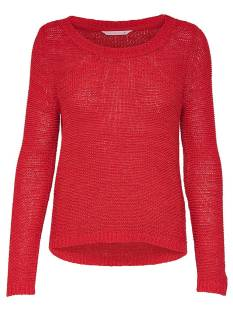 Only ONLGEENA XO LS PULLOVER Trui flame scarlet 15113356