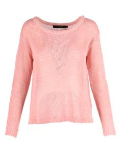 Vero Moda VMRYLIA LS WIDE BOATNECK Trui strawberry 10191073
