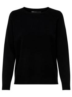 Only  Only ONLLESLY KINGS L/S PULLOVER Trui black 15170427