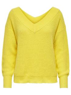 Only  Only ONLMELTON LIFE L/S PULLOVER KNT Trui lemon drop 15192289